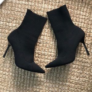 Zara sock booties